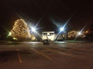 A White Oaks Christmas wonderland
